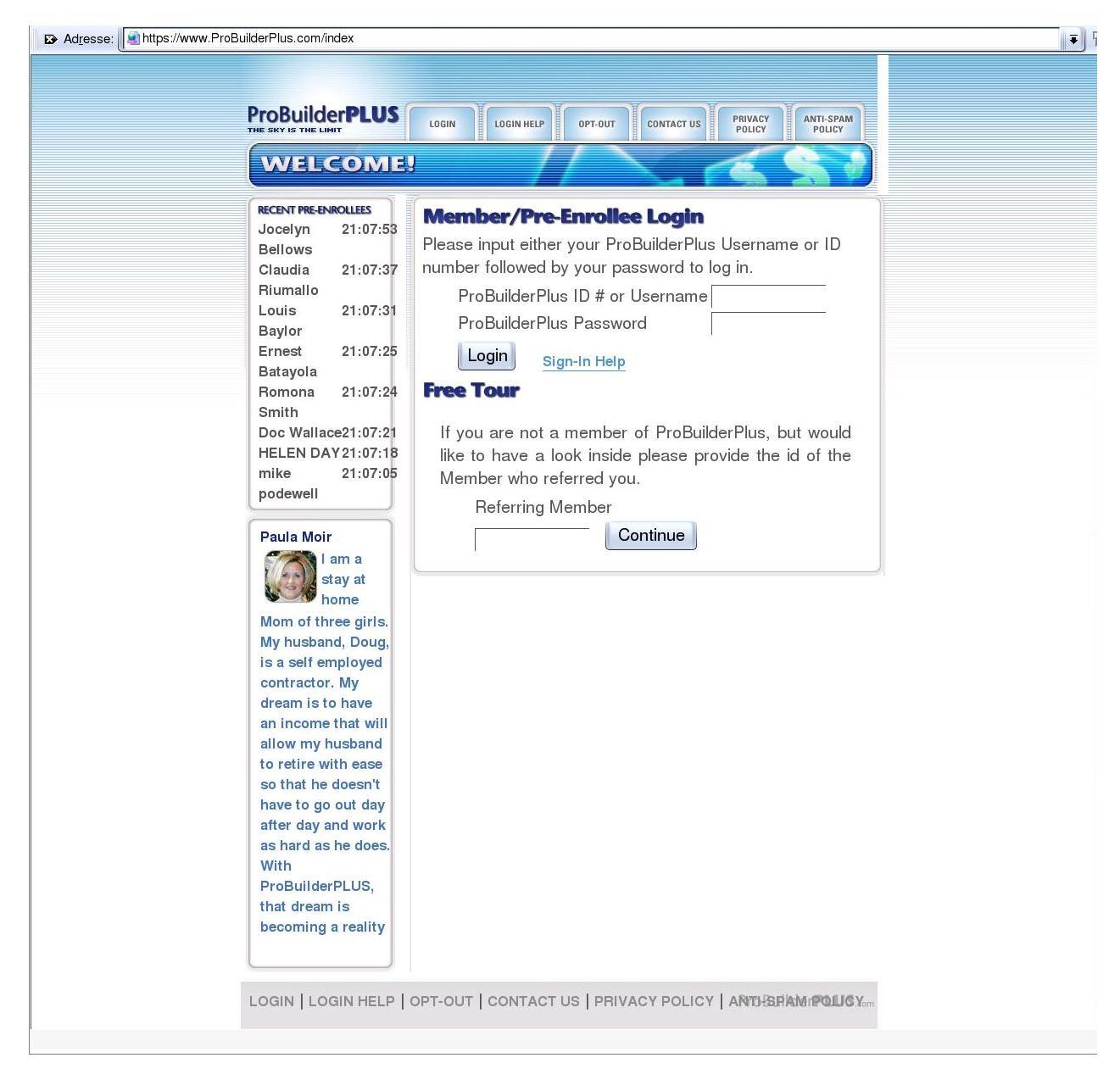 df7588aeb Wehrhafte Medizin!, MLM: Menschenmuehle ProBuilderPlus.com,  http://www.ariplex.com/ama/ama_nu21.htm